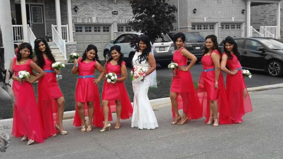 Samantha & her bridesmaids